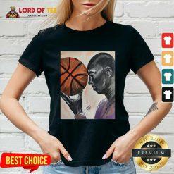 Michael Jordan Basketball V-neck - Desisn By Lordoftee.com