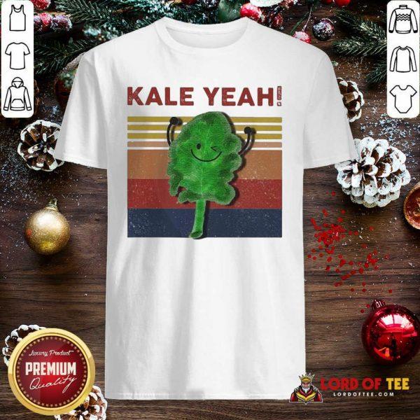 Kale Yeah Vintage Shirt-Design By Lordoftee.com