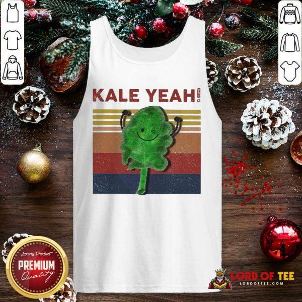 Kale Yeah Vintage Tank Top-Design By Lordoftee.com