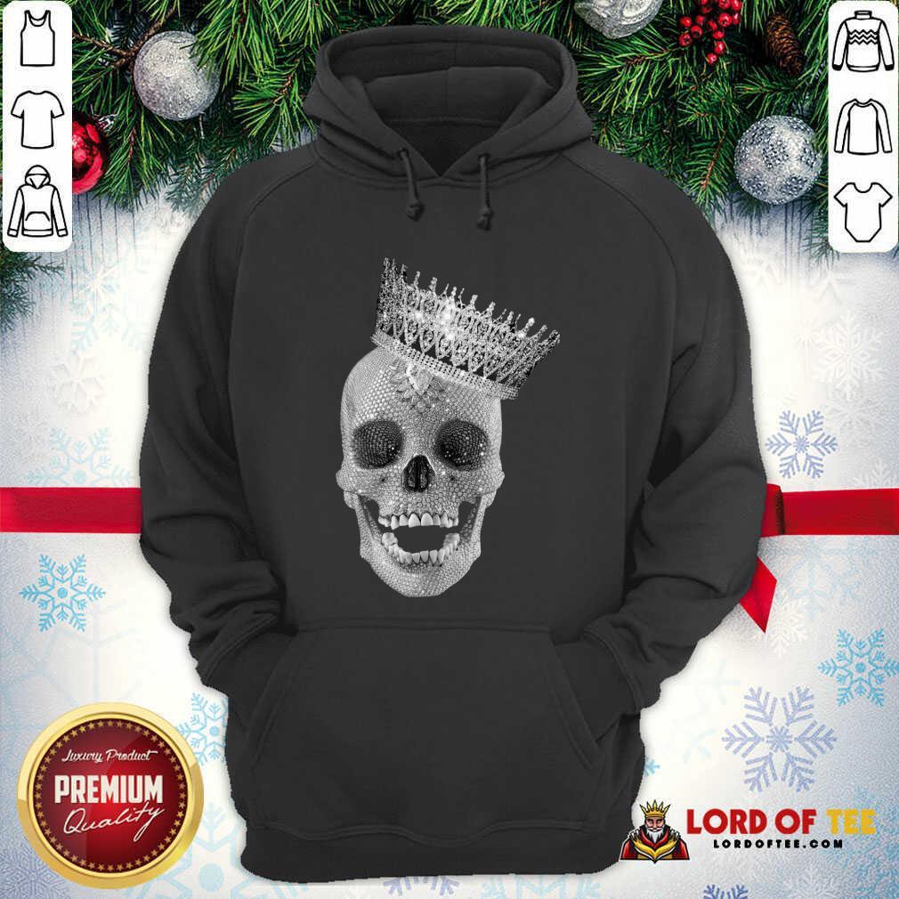 Skull Queen Diamond Hoodie - Desisn By Lordoftee.com