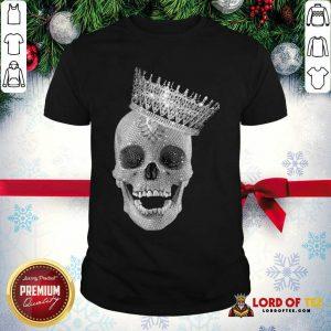 Skull Queen Diamond Shirt - Desisn By Lordoftee.com