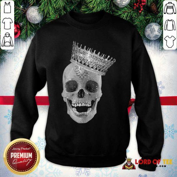 Skull Queen Diamond Sweatshirt - Desisn By Lordoftee.com