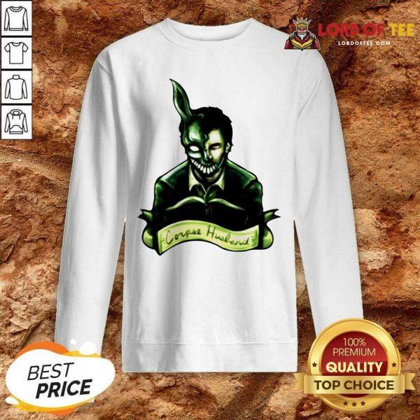 Corpse Husband Merch Sweatshirt - Desisn By Lordoftee.com