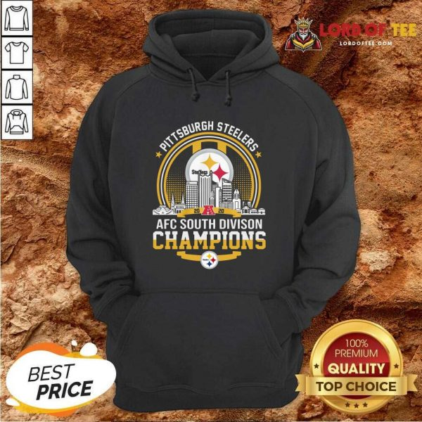 Pittsburgh Steelers 2020 Afc South Division Champions Hoodie - Desisn By Lordoftee.com