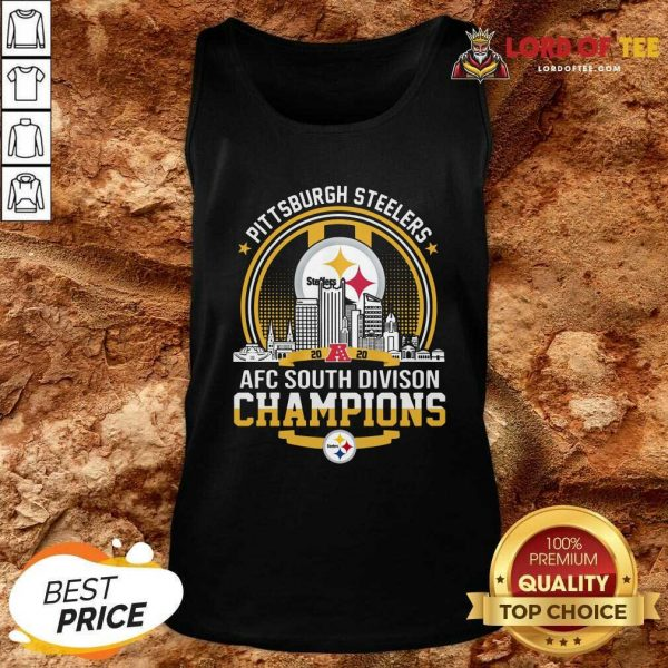 Pittsburgh Steelers 2020 Afc South Division Champions Tank Top - Desisn By Lordoftee.com