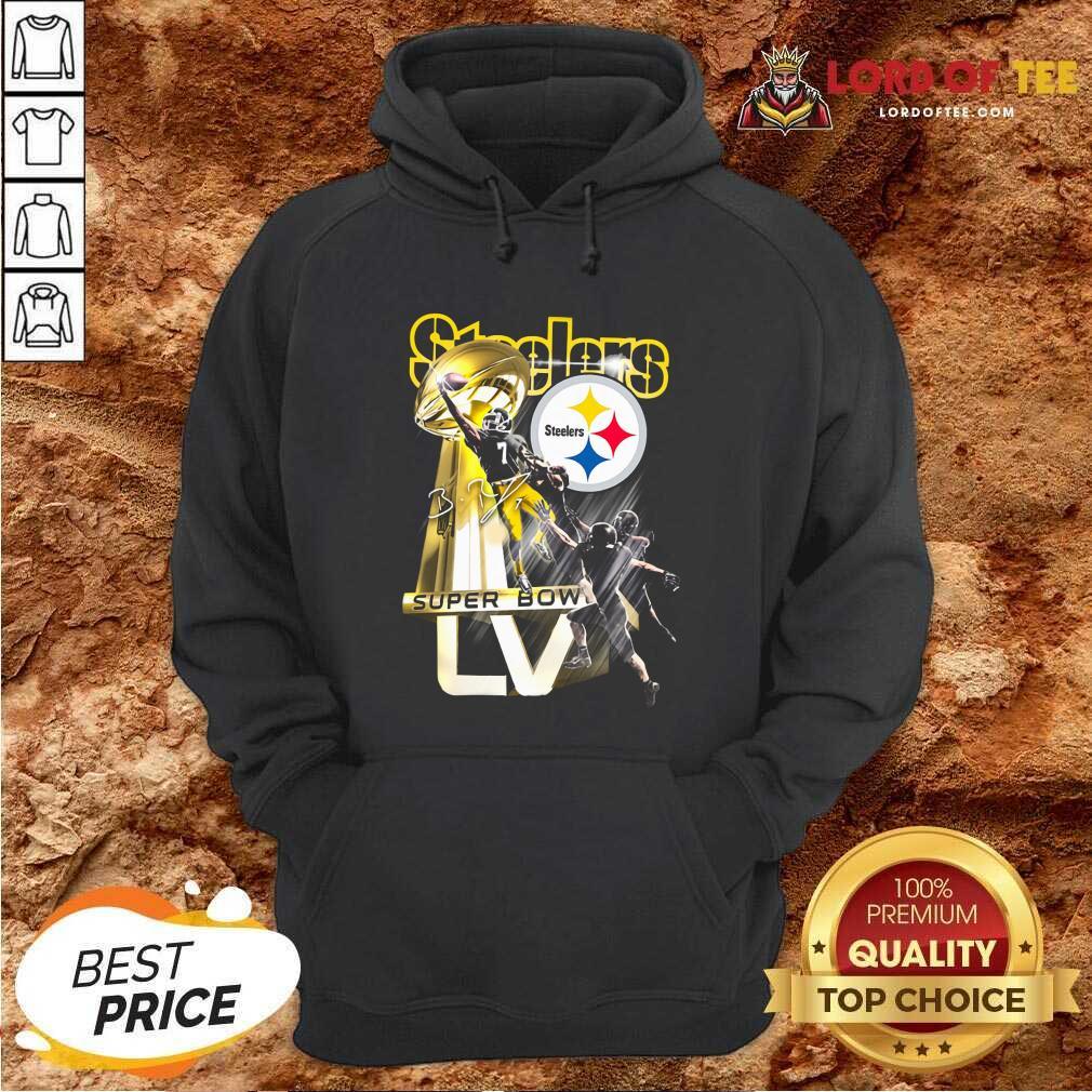 Pittsburgh Steelers Super Bowl Liv Signature Hoodie - Desisn By Lordoftee.com