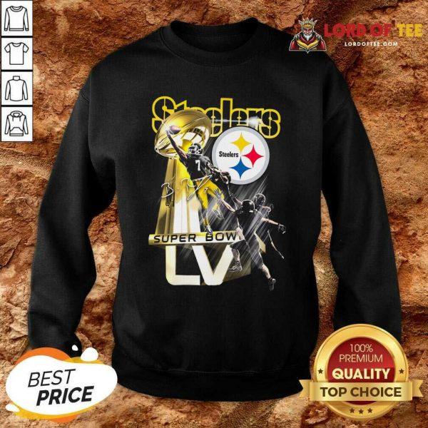 Pittsburgh Steelers Super Bowl Liv Signature Sweatshirt - Desisn By Lordoftee.com