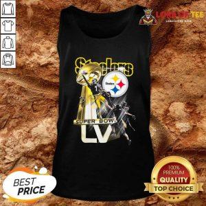 Pittsburgh Steelers Super Bowl Liv Signature Tank Top - Desisn By Lordoftee.com