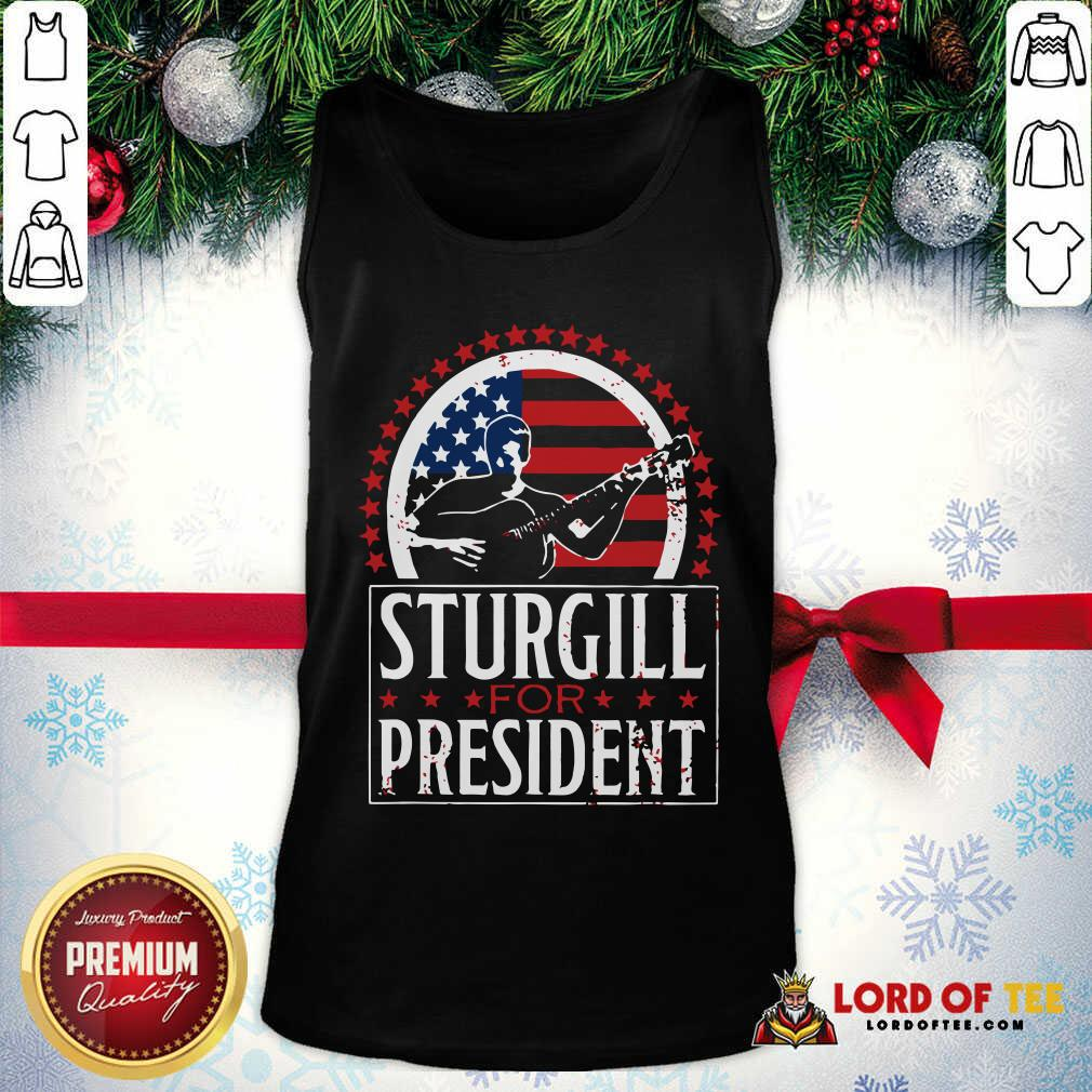 Sturgill For President Tank Top-Design By Lordoftee.com