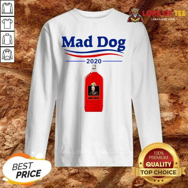 Mad Dog MD 2020 Sweatshirt - Desisn By Lordoftee.com