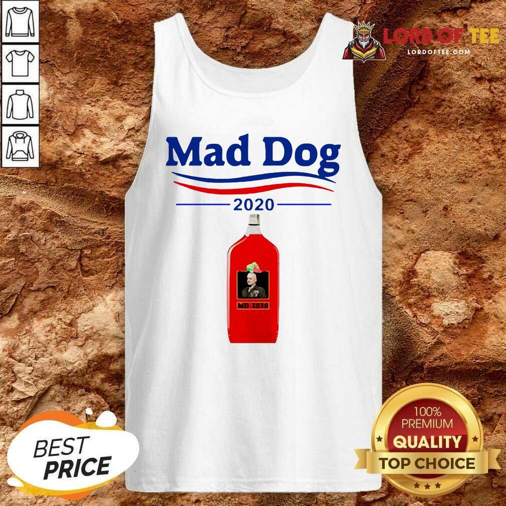 Mad Dog MD 2020 Tank Top - Desisn By Lordoftee.com