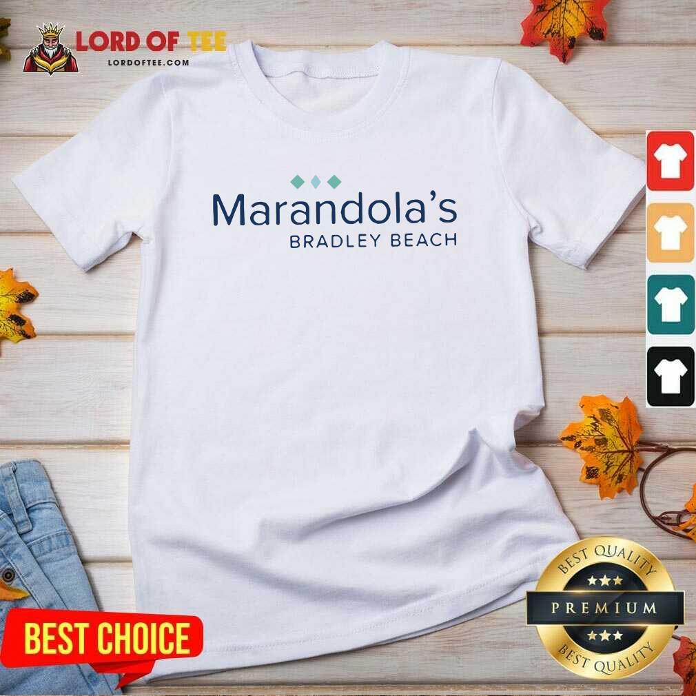 Marandolas Bradley Beach V-neck - Desisn By Lordoftee.com