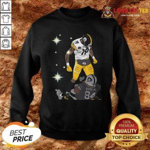 Pittsburgh Steelers JuJu Smith And Oakland Raiders Antonio Brown Sweatshirt - Desisn By Lordoftee.com