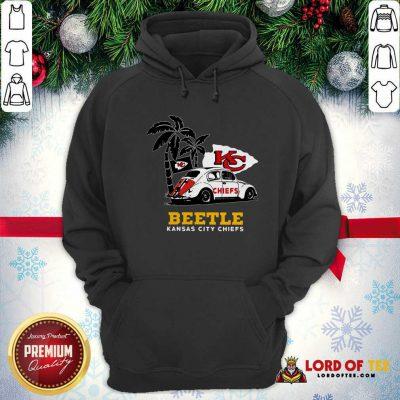 Volkswagen Beetle Kansas City Chiefs Hoodie - Design By Lordoftee.com