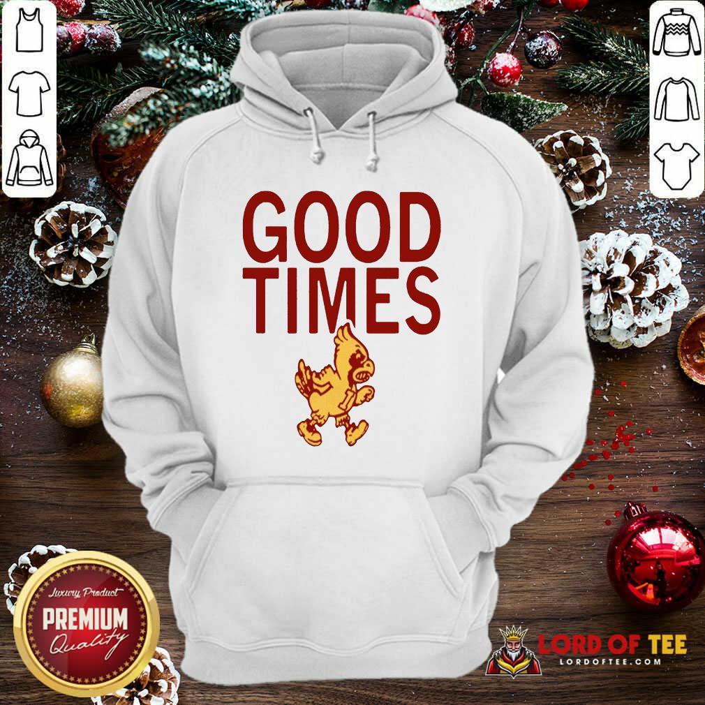 Isu Good Times 2020 Hoodie-Design By Lordoftee.com