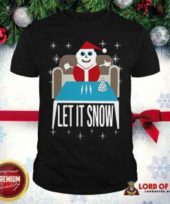 Walmart Cocaine Santa Let It Snow Santa Cocaine Christmas Sweater Shirt-Design By Lordoftee.com