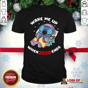 Stitch Wake Me Up When 2020 Ends Shirt-Design By Lordoftee.com