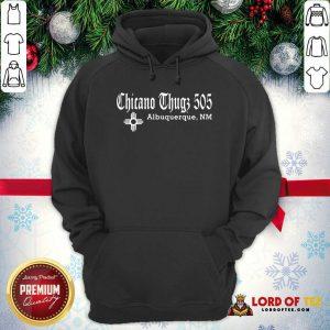 Chicano Thugs 5O5 Albuquerque Nm Hoodie-Design By Lordoftee.com