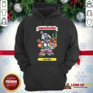 Captain Spaulding Garbage Pail Kids Sick Sid Hoodie - Design By Lordoftee.com