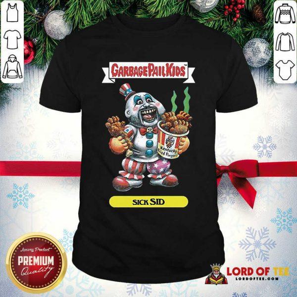 Captain Spaulding Garbage Pail Kids Sick Sid Shirt - Design By Lordoftee.com