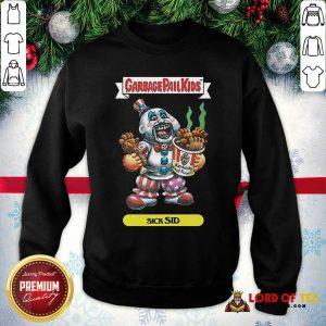 Captain Spaulding Garbage Pail Kids Sick Sid SweatShirt - Design By Lordoftee.com