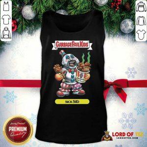 Captain Spaulding Garbage Pail Kids Sick Sid Tank Top - Design By Lordoftee.com