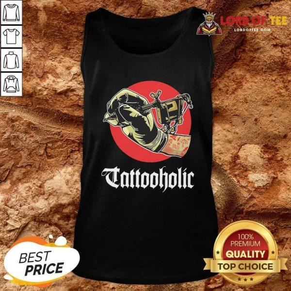 Tattooholic Tank Top - Desisn By Lordoftee.com