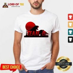 Team G Godzilla vs Kong shirt
