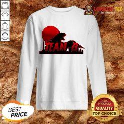 Team G Godzilla vs Kong Sweatshirt