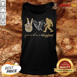 Apprehensive Hot Peace 789 Love Bigfoot Super Tank Top