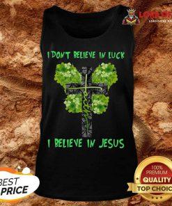 Happy I Believe In Jesus Tank Top