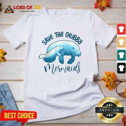 Save The Chubby Mermaids V-neck