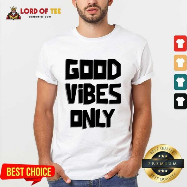 Pretty Coconut Tree Good Vibes Only Shirt