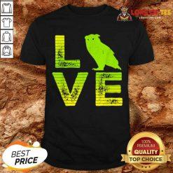 So I Love Owls Wild Owl Boys And Girls Shirt