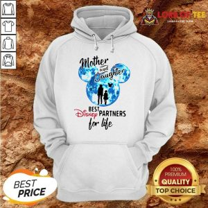Top Mickey Mother And Daughter Best Disney Partners For Life Hoodie