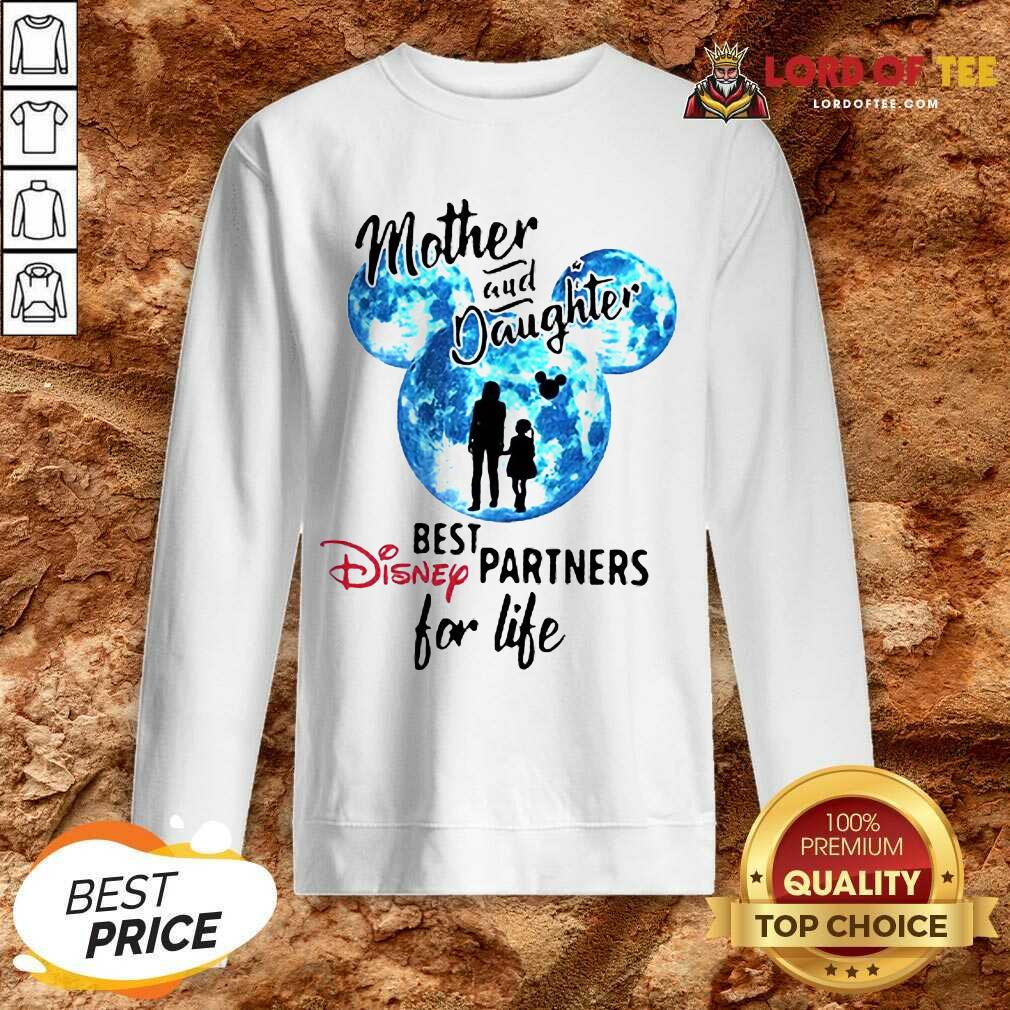 Top Mickey Mother And Daughter Best Disney Partners For Life Sweatshirt