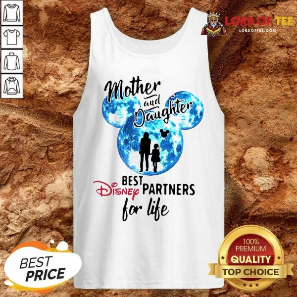 Top Mickey Mother And Daughter Best Disney Partners For Life Tank Top