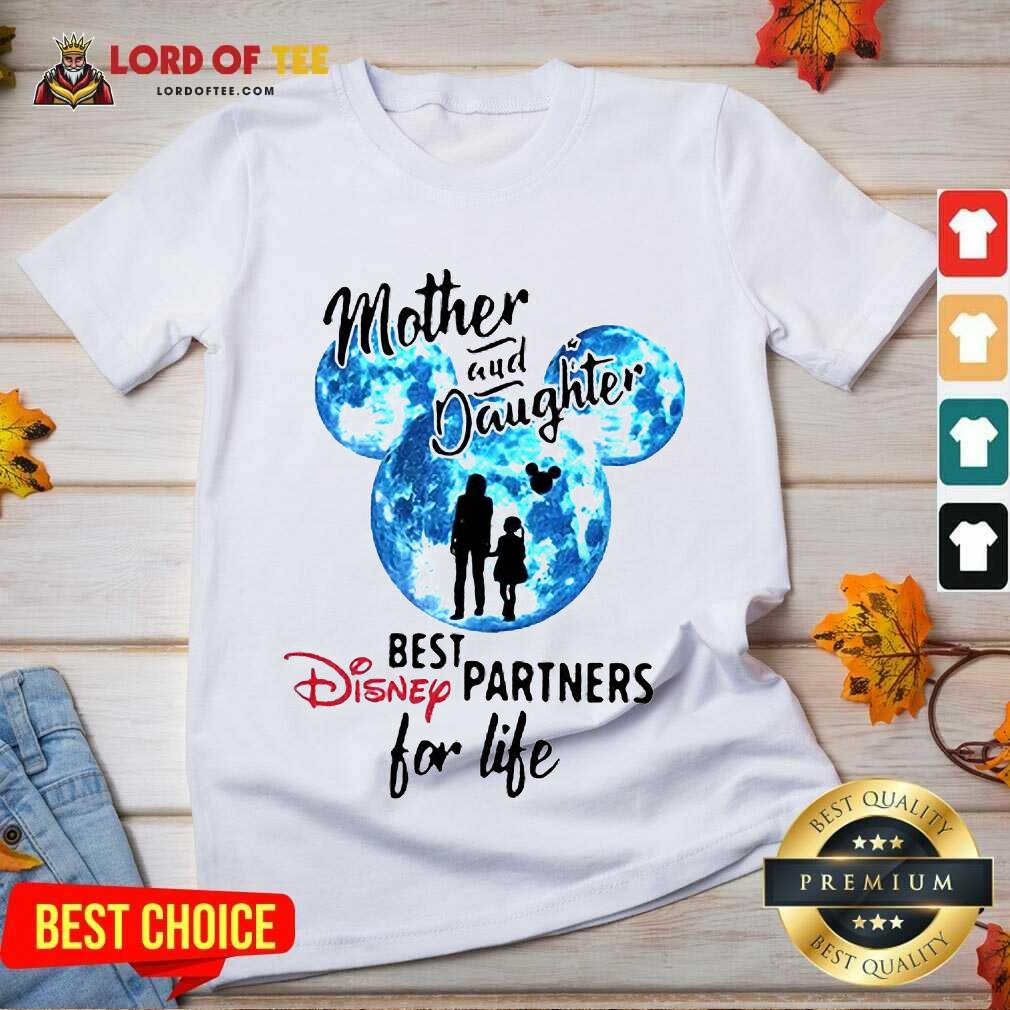 Top Mickey Mother And Daughter Best Disney Partners For Life V-Neck