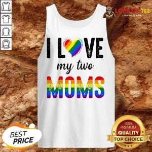 Top My 2 Moms Lesbian Pridets For Kids Tank Top