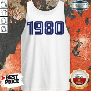 Excellent Personalised Year 1980 Tank Top