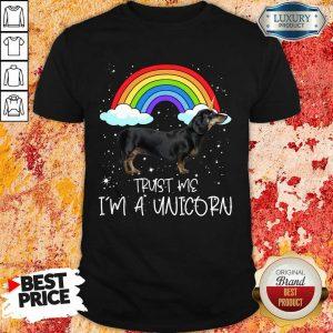 Original Dachshund Trust Me Im A Unicorn Shirt