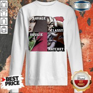 Savage Sassy Bougie Rachet Sweatshirt