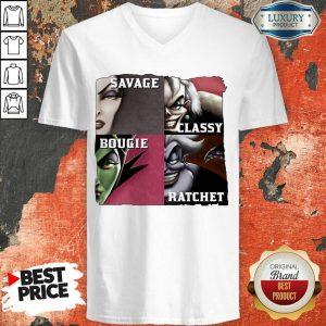 Savage Sassy Bougie Rachet V-neck