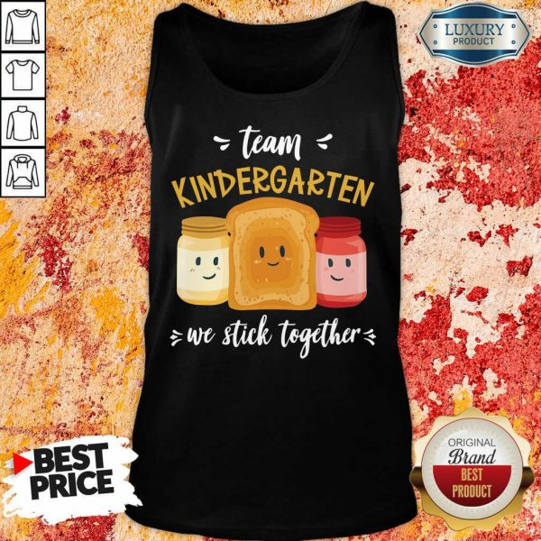 We Stick Together Sandwich Team Kindergarten Tank Top