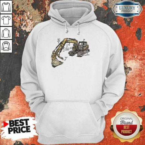 Bulldozer Anatomy Hoodie