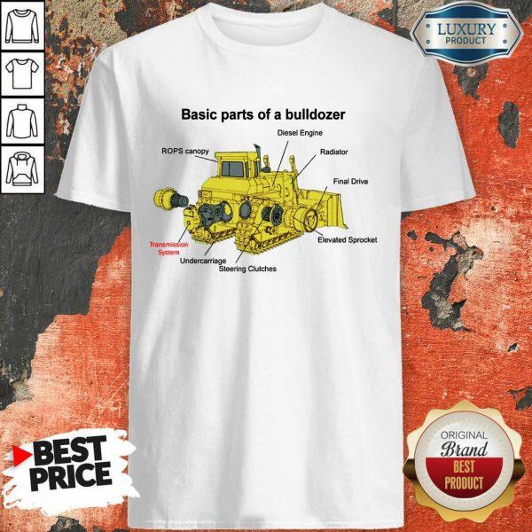 Bulldozer Anatomy Shirt