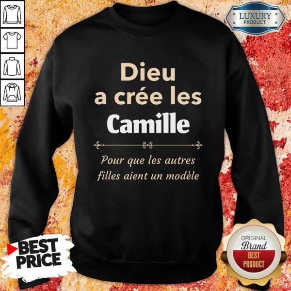 Dieu A Cree Les Camille Sweatshirt