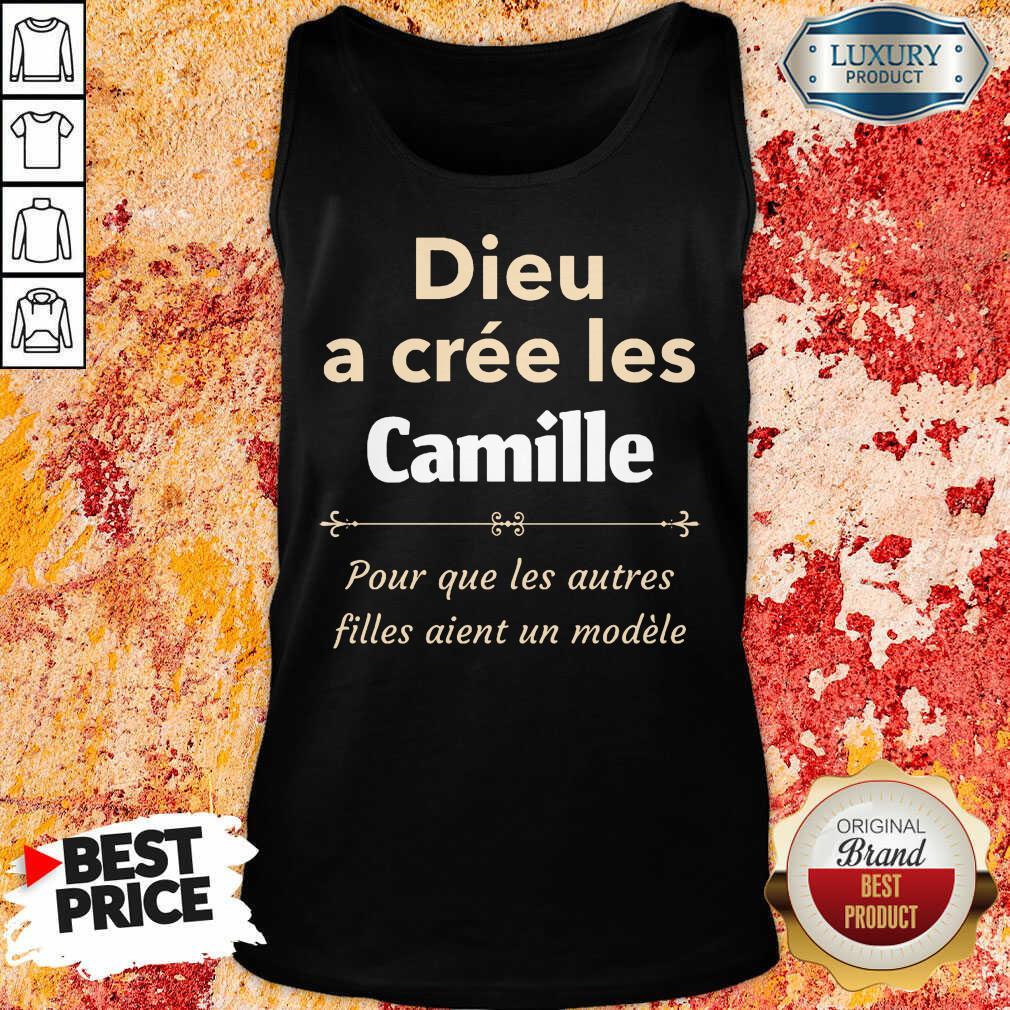 Dieu A Cree Les Camille Tank Top