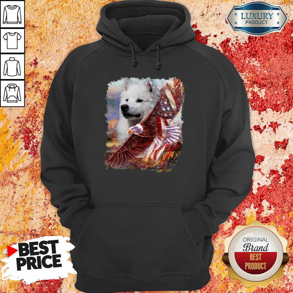 Eskimo American Eagle Patriot For Lover Hoodie