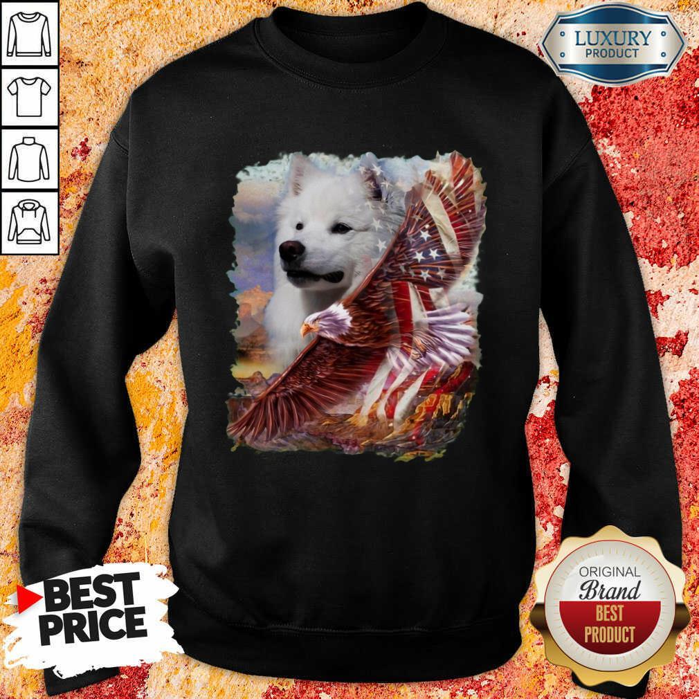 Eskimo American Eagle Patriot For Lover Sweatshirt